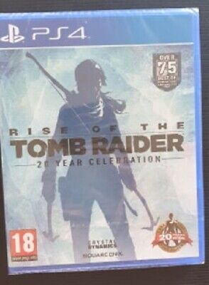 Rise of the Tomb Raider 20 Year Celebration- Sony PS4 - New and Sealed