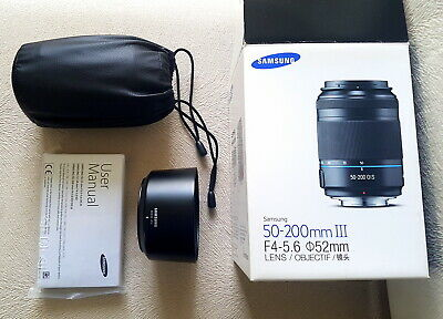 Samsung NX LENS 50-200mm f/4.0-5.6 NX ED OIS III  in TOP CONDITION !! WORKs 100%