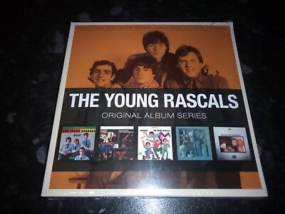 The Young Rascals - Original Album Series 5 Cd Set 2010 Warner New Sealed