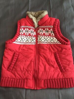 Next Girls Gilet Age 5-6