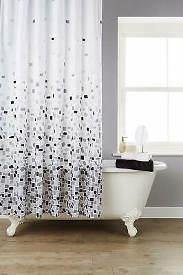 KAV Extra Wide Polyster fabric water proof shower curtain 220 WIDTH x 180 Drop