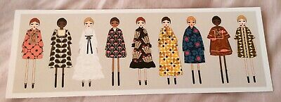 NEW - Orla Kiely - Life in Pattern exhibition - long postcard print