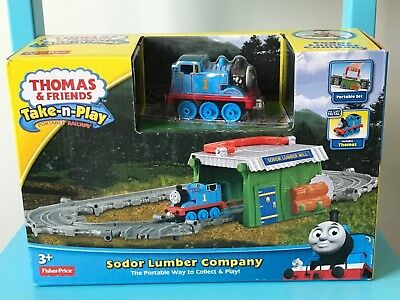 Fisher Price - Thomas and Friends - Take and Play - Sodor Lumber Company