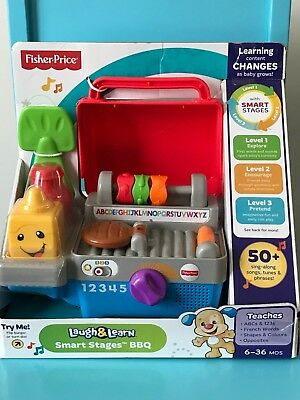 Fisher Price - Laugh & Learn - Smart Stages BBQ