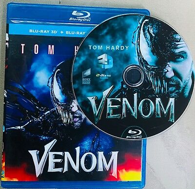 Venom 3D Blu-ray Region Free Buy Now Best Deal