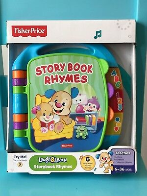 Fisher-Price Laugh & Learn - Storybook Rhymes - BNIB 👶🏻