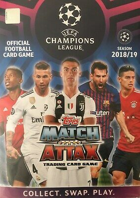 Match Attax 2018/19 Champions League - Real Madrid CF