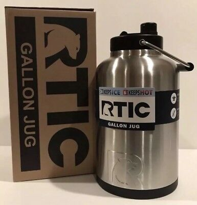 RTIC 1 GALLON Jug Stainless, Holds the Ice Half the Price