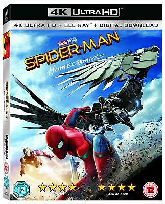 Spider-Man Homecoming 4K UHD Blu-ray 2-Disc UK release sealed