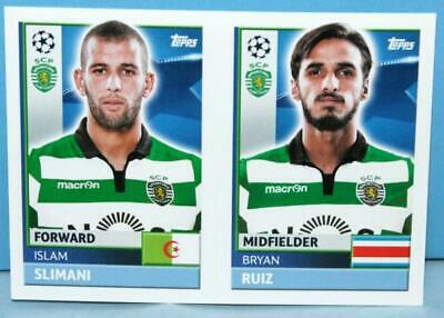 Topps Champions League 2016/2017 Sticker Nr.spo18-spo19