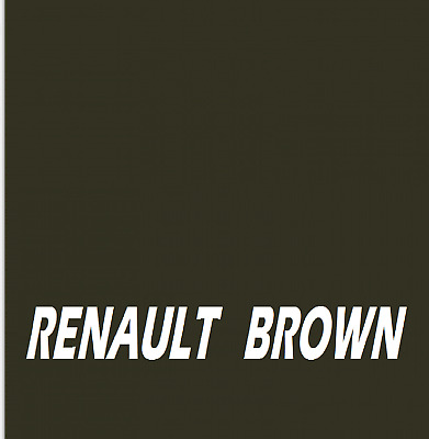 RENAULT TRACTOR BROWN  Agricultural Tractor Machinery Enamel Gloss Paint