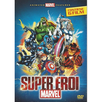 Box *** SUPER EROI MARVEL (Cofanetto 6 Dvd) *** sigillato