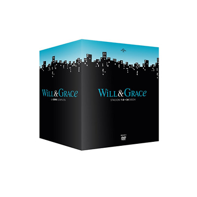 STV *** WILL & GRACE - Stagione 01-08 (34 Dvd) *** sigillato