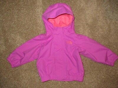 1aa3b61e4 THE NORTH FACE Infant Girls Perrito Reversible Jacket Lupine 3-6 ...