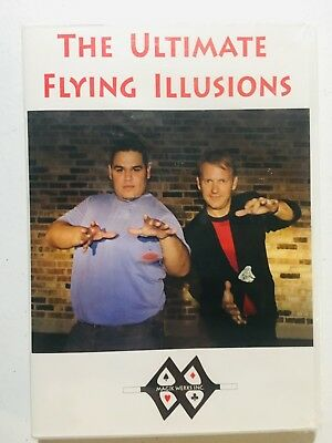 The Ultimate Flying Illusions (DVD) Magic Tricks Levitation Coins Cards Float ++