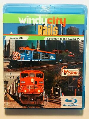 Windy City Rails Vol. 8 (Blu-Ray & DVD, 2016) Downtown Chicago to the Airport #1