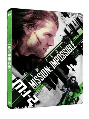 Mission: Impossible 2 II Steelbook 4K UHD + Blu-ray UK release sealed