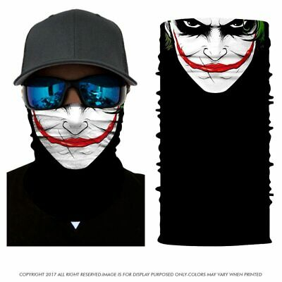 Smiling face Bandana Balaclava Hunting Fishing Outdoor Military Breathing