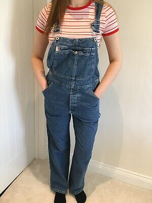 Vintage Guess Jeans Unisex Dungarees Overalls Small UK 8-10 Made In USA