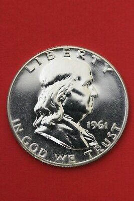 1961 Proof Ben Franklin Half Dollar Exact Coin Shown Flat Rate Shipping OCE 380