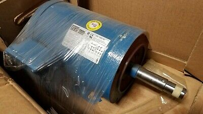 "00118ES3ED56  5//8/"" DIAMETER SHAFT BRAND NEW WEG 1 HP 3 PHASE MOTOR"
