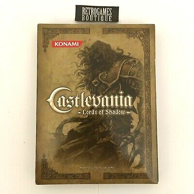 CASTLEVANIA LORDS OF SHADOW Limited Collector's Edition XBOX 360 PAL ITA