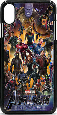 AVENGERS END GAME MARVEL CASE COVRE Tasche SchutzHulle IPhone SAMSUNG Huawei LG