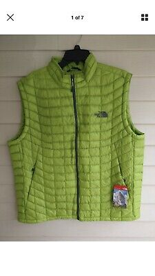 fa641a5b1 NEW | THE North Face | Mens | ThermoBall Vest | Macaw Green | Size S ...