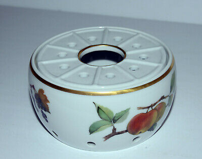 Royal Worcester Evesham Gold China Teapot Warmer - Excellent unused condition