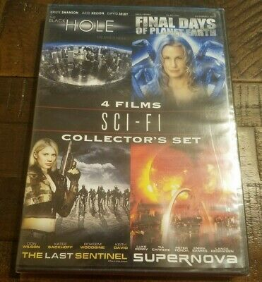 4 Films Sci-Fi Collector's Set (DVD, Sealed)