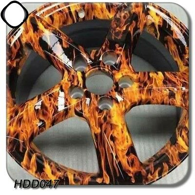 High Quality Hydrographic Film Skull Flame Water Transfer Flaming Dip Printing