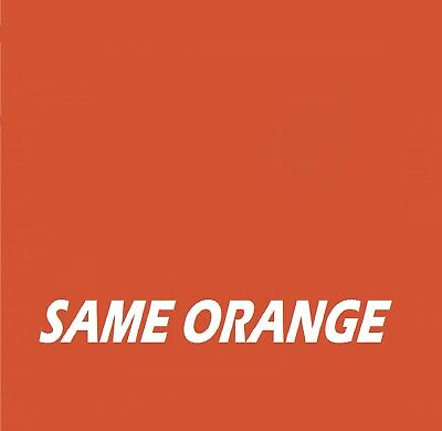 SAME ORANGE Agricultural Tractor Machinery Enamel Gloss Paint
