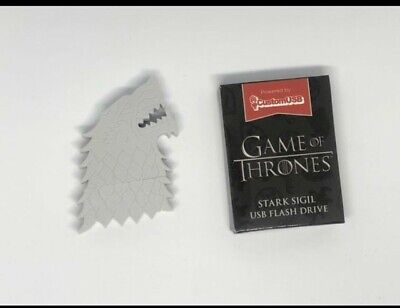 Game of Thrones House Stark Sigil Dire Wolf USB Flash Drive - HBO 4GB