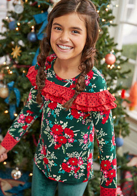 e2a4aa19047f Girls Matilda Jane Choose your own path Most Wonderful Time Top size 6 NWT