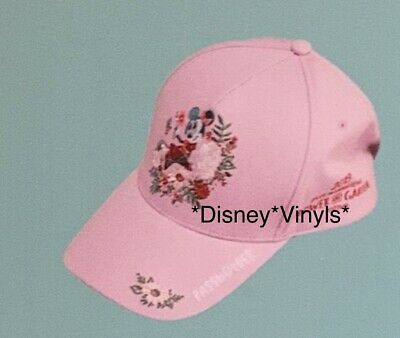Disney Epcot Flower & Garden 2019 Minnie Mouse Passholder Baseball Cap Hat NWT
