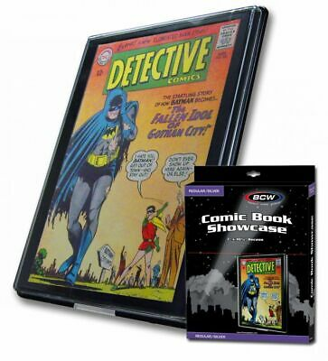 New Bcw 10 Silver Age Comic Book Showcase Display Art Frame Case Free Shipping