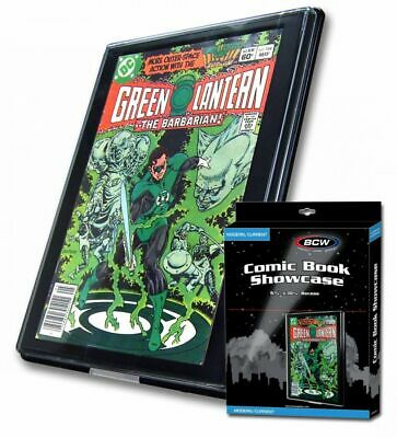 New Bcw 10 Current Age Comic Book Showcase Display Frame Free Shipping
