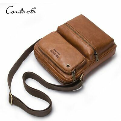 23c9a534c 2019 NEW ARRIVAL Genuine Cowhide Leather Bolsa Men's CrossBody Bags ...