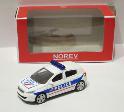 Norev Minijet 1:64 Peugeot 308 Police Nationale. Brand new. 3 inches