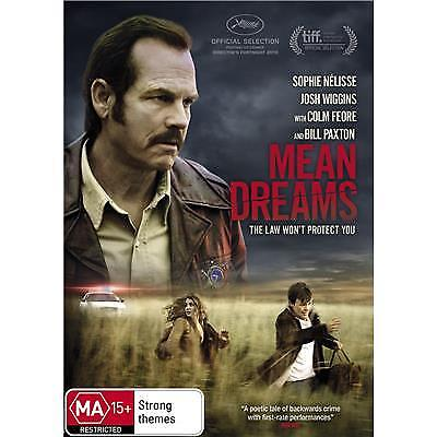 Mean Dreams DVD 2017 MA 15 + / Free Priority Postage - Receive within 3 days!