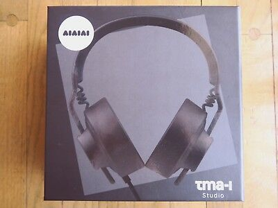 AIAIAI TMA-1 Studio Headphones (Black) *mint condition with box, manual, earpads
