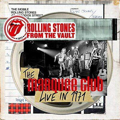 New ROLLING STONES THE VAULT 71 Marquee Club Brussels Affair CD + DVD