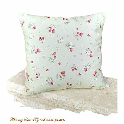 'Bunnies Mint' Memory Lane Vintage Cushion