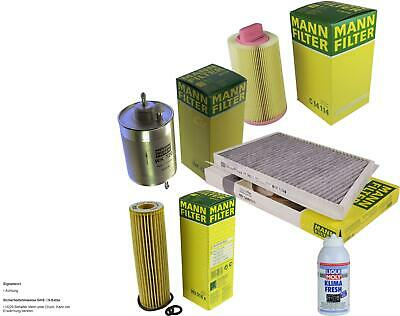 MANN Filter-Paket + Klima-Fresh für Mercedes-Benz C-Klasse T-Model Coupe