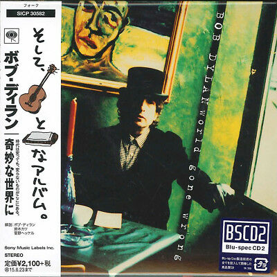 BOB DYLAN-WORLD GONE WRONG-JAPAN MINI LP BLU-SPEC CD2 Ltd/Ed E51