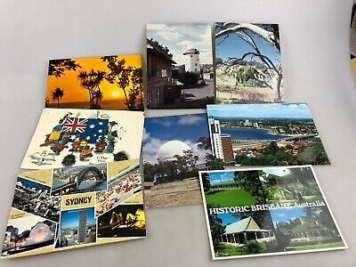 Postcards From Various Places In Australia - Colour - Some Not Used Vintage