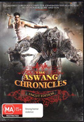 The Aswang Chronicles Uncut Edition - REGION 4 - DVD - FREE POST!