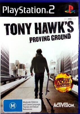 Ps2 Tony Haw'ks Proving Ground Playstation 2 Game