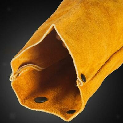 GN- Yellow Cowhide Leather Welders Jacket Safe Keeper Clothing Welding Mig Tig C