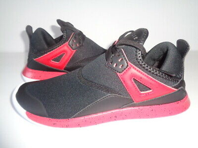 meet 00831 4e105 Nike Air Jordan Fly  89 Black Red Youth Size 6.5 AA4039-002 NEW